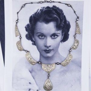 Vintage 900 Guatemalan Silver warrior necklace